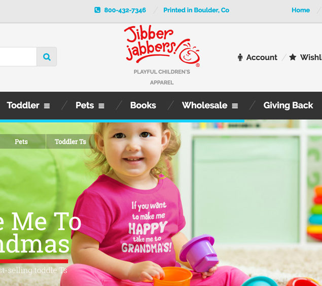 The New Jibber Jabbers Website Experience